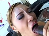 huge fuckin facial