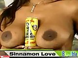 Sinnamon Love does booble