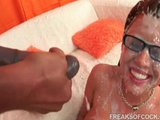 The famous pornstar @ the BIGgest cumshot ever!!