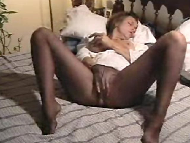 Female masterbation videos pantyhose