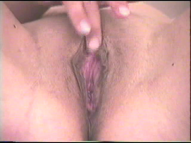 Masturbating My Shaved Cunt