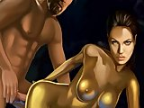 Angelina Jolie absolutely nude and gets wicked sex