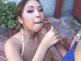 Blowjob in the Shade