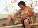 There's nothing hotter than a horny granny