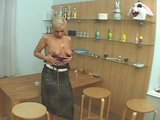 Smoking mature blonde 2/5
