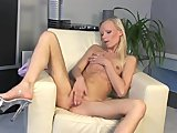 Gitta Blonde Fucks Her Pussy Hard