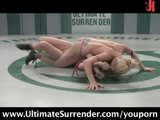 Naked Wrestling - Loser gets fucked!