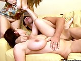 gianna michaels and her hot friend get pounded