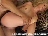 Dick Sucking Stripper Is Fucked And Facialed