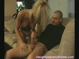Naughty sarah give nasty handjob part1/2
