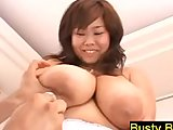 Busty Fuko Shows Off Her Nude Big Boobs Huge Tits