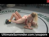 Carly & Darling wrestling, loser gets fucked