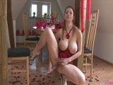 Busty Katerina Wanks Her Snatch