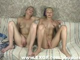 Two Cute Girls Fingering Together