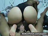 Sticky French Footjob  part2of2 - Mybestfetish