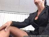 Milf Nailed On Work Desk