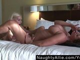 BUSTY BEAUTY ALL TO MYSELF – HUGE TIT LESBO WIFE