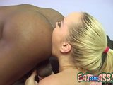 Annette Schwarz Licks Black Man Ass rimming rimjob