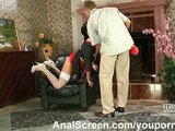 Hot maid provides anal service