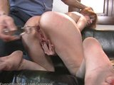 Couple enjoying their private anal play