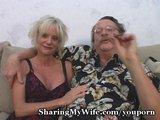 Mature couple having fuck in front of professional youporn camera