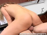 Avy Scott invites her daughters BF over to fuck