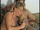 He loves watching her suck his dick