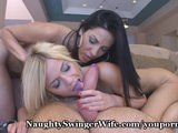 Swinger Wife Fucks Coed
