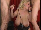 Massive Babe and Two Cocks - DBM Video