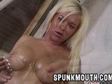 Crista Moore Big Boob Facial  titty fuck tits