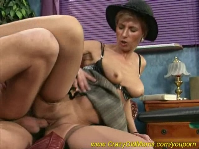 old mom anal