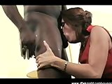 MILF Angelle Interracial Barebacking