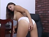White Panty girl
