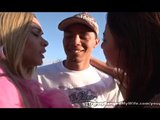 Couple Threesome With Hot Tranny