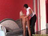 hot blonde real sexy flexi doll