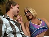 Blonde Cougar Hardcore Sex