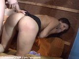 Fantastic looking girl fucked by many guys