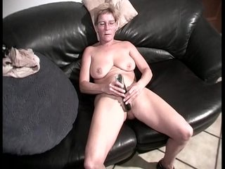 Grandma makes herself cum video