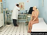 Big tits Alexa Bold kinky gyno pussy exam