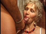 Porno Video of Granny Has Fun With Three Cocks Part 2