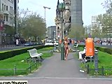 Maria - Hot Public Nudity With Horny Slim Chick