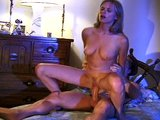 Step sister helps step brother get off