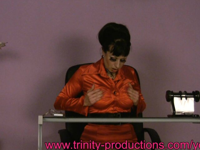 Sex Tubes of Busty Secretary Milf Under The Desk Masturbation