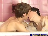 Julian 18 with BoyFriend In BathRoom