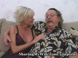 Porn Tube of Hot Mature Cums For Young Cock