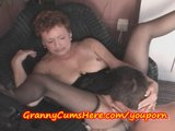 Granny teacher fucks an ex student