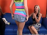 Husband And Wife Tag Team Babysitter - Free Porn V...