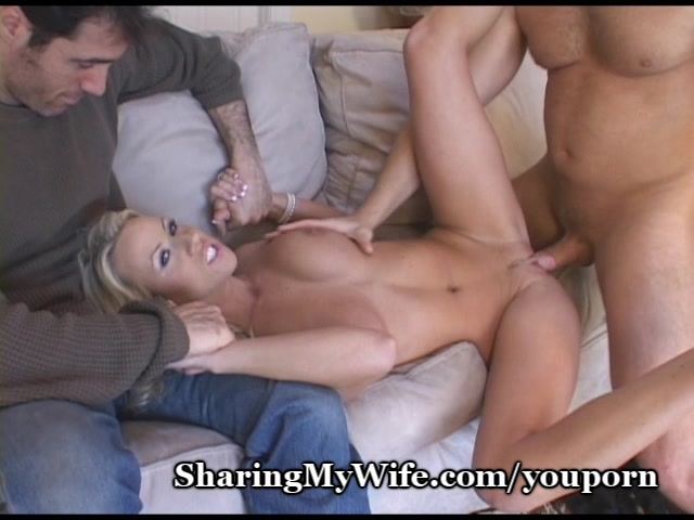 sex with strap on wife sharing porno