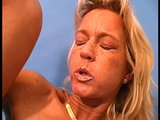 Solo Mature Woman Masturbates
