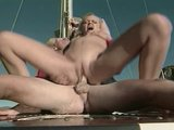 Beach babes plowed